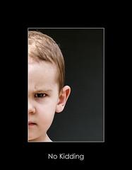 No kidding (nune) Tags: boy portrait face kid eyes child patrick 2006 niñosydetalles