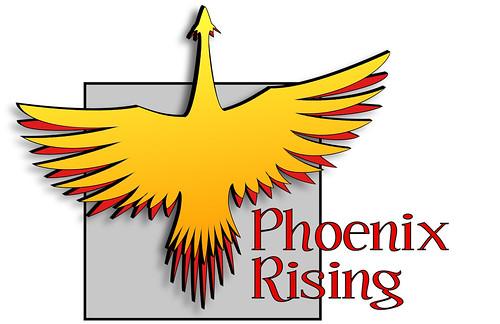 firebird. flame. logo. phoenix