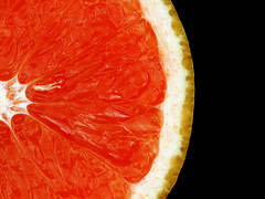 Juicy (Rune T) Tags: red fruit wow juicy shiny close barbados 1750 grapefruit citrus circular shaddock