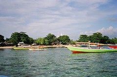 colored boats (photomemory) Tags: indonesia worldtrip waterlife bunaken