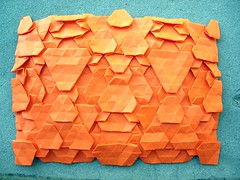 YAHT (LorenzoMarchi) Tags: art triangle origami geometry hexagon tessellation tessellations paperfolding papiroflexia