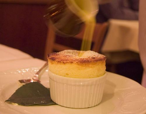 Dessert: Meyer Lemon Soufflé