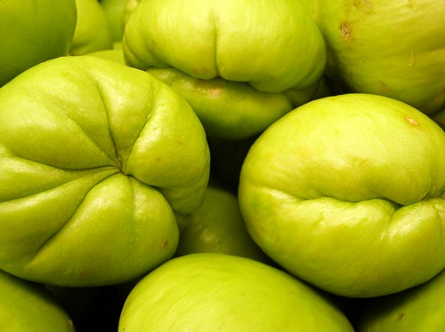 chayote squash by debaird™, on Flickr
