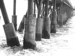 (e n j o y ! ! ) Tags: blancoynegro muelle mar agua claudia constitucion maturana
