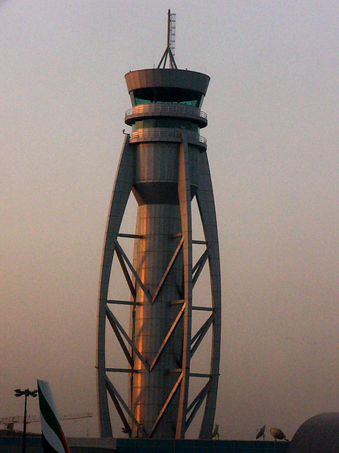 Dubai International Airport Conrol Tower