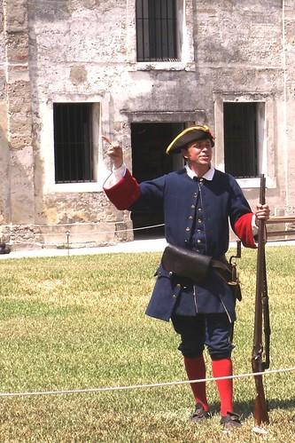 Castillo de San Marcos: Ranger
