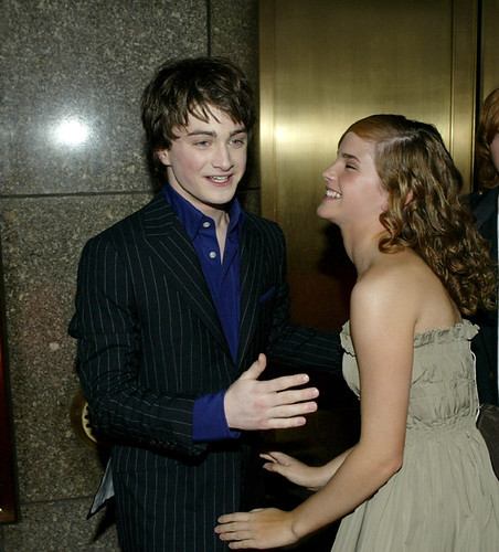 hot emma watson with daniel