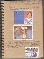 Larry & Balki Open It Up (Look In The Tunk) Tags: 2003 brown journals perfectstrangers june222003 marklynnbaker