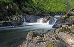 Llugwy Waterfall (Stu Worrall Photography) Tags: longexposure water river waterfall waterblur betwsycoed afon kood nd4 nd2 llugwy riverllugwy stuworrall stuartworrall