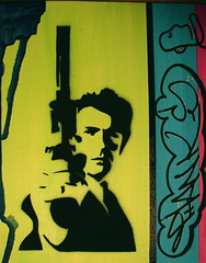 """""""The Good,The Bad and the Ugly Painting."""" (THANKS.) Tags: street art beautiful thanks painting photography graffiti photo stencil paint surf acrylic photos graf pop skate network spraypaint graffitit kreativ saythankstv saythanks"""