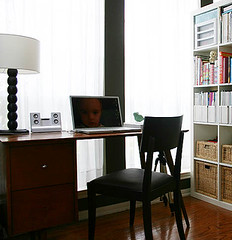 desk area after - by Laurie | Liquid Paper