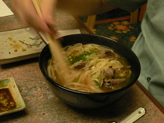 Some udon in broth that me dad ate (chubby_ad) Tags: food japanese penang makan