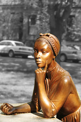 Statue of Phillis Wheatley (Sharon Mollerus) Tags: sculpture history statue boston america poet africanamerican dm slave philliswheatley 123history revolutionaryperiod статуя 20060520phylliswheatley филлисуитли
