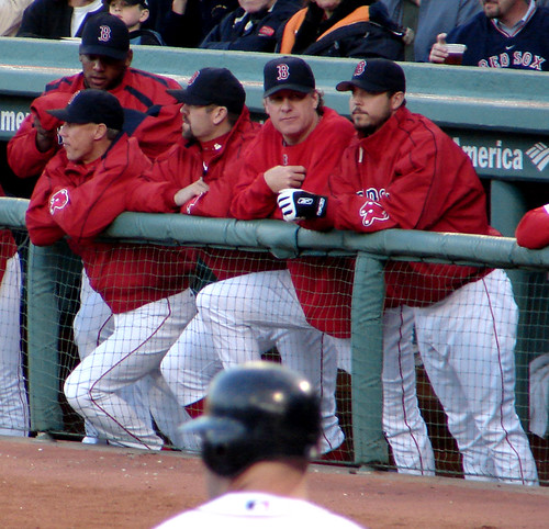 dugout crew by Boston Wolverine.