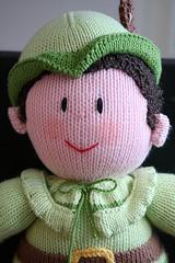 Robin Hood (Craft & Creativity) Tags: toy creativity toys stuffed handmade craft softie softies