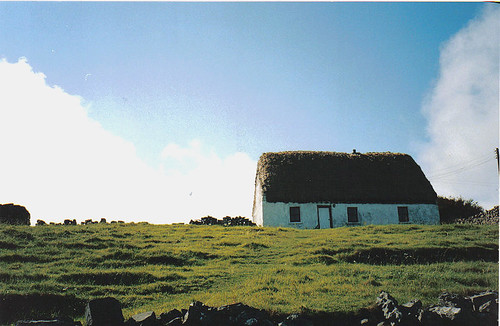 Irish cottage, Aran Islands