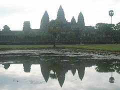 Reflection of Angkor Wat