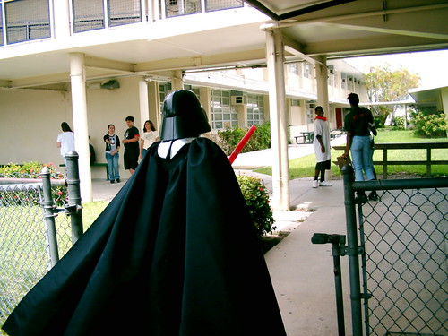 Darth Vader en la universidad