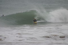 Me (AlexYoung) Tags: ocean sea water sand rocks cornwall surf waves barrel bodyboarding spotm