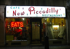 New Piccadilly Cafe, Soho
