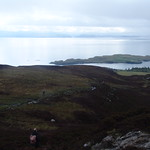 Walking up from Eigg harbour thumbnail