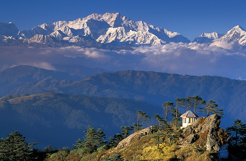 Kanchenjunga Above the Clouds
