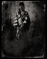 Midori  tintype #4 (Zmanphoto) Tags: japan japanese antique tintype ambrotype wetplate midori alternativeprocess russiancamera collodion