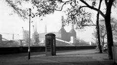 Battersea Power Station. (Fray Bentos) Tags: london battersea riverthames southlondon batterseapowerstation gilesgilbertscott electricalpowergeneration coronetcub