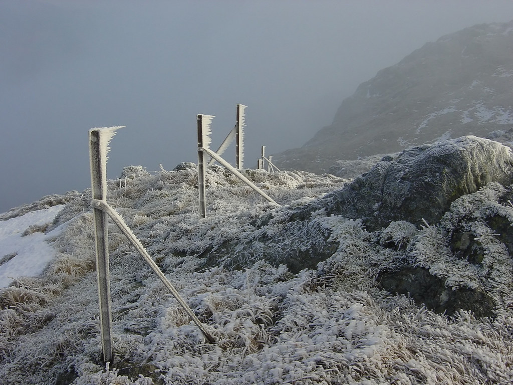 Jack Frost on Ben Venue, Scotland
