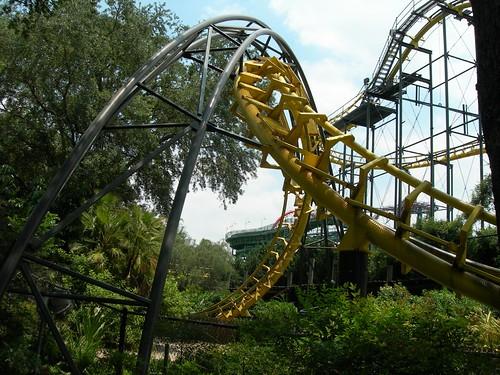 python ride busch gardens