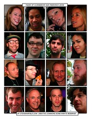 Faces of Vloggercon 2006