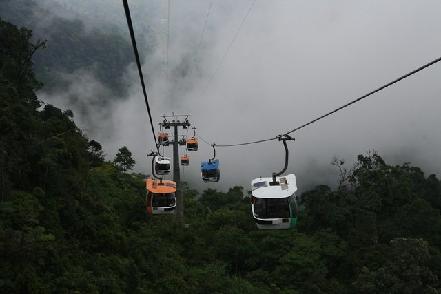 Genting Highlands cable cars