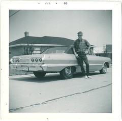 My Dad and his 409 (hoffvw) Tags: chevrolet ss convertible impala 1963 409