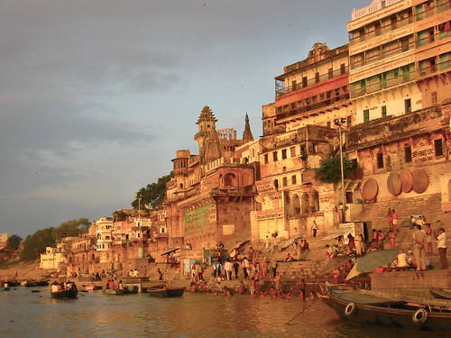Best Cities to Travel to in India - River Ganges, India