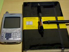 Partner of Time Management (guccio@) Tags: desktop moleskine notebook desk gtd lifehack lifehacker