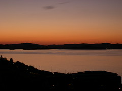 Looking out over Byfjorden in Stavanger (.:Suzanne:.) Tags: sunset norway stavanger rogaland tasta byfjorden
