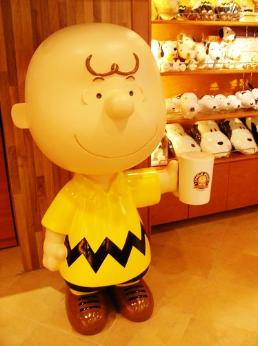 Charlie Brown Cafe on Hongkong
