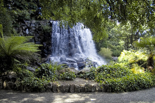 Waterfall in Iveagh Gardens