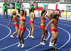 Cheerleaders at Berlin Olympic stadium 6 [ Foto ] (.ack-online.de) Tags: world girls berlin cup girl june germany deutschland photo dance football foto cheerleaders dancing photos fifa soccer 2006 weltmeisterschaft wm wc fotos wk worldcup cheerleader bild bilder tanzen fuball wm2006 httpwwwfanfesteu