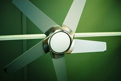 ceiling fan in color (melanie.phung) Tags: green geometric favorites ceilingfan melaniephung