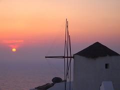 Santorini Sunset - by StrudelMonkey