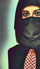 lib·er·ty : The right and power to act, believe, or express oneself in a manner of one's own choosing. (-ViDa-) Tags: woman liberty arab arabian salvation arabianwoman theface arabicwoman