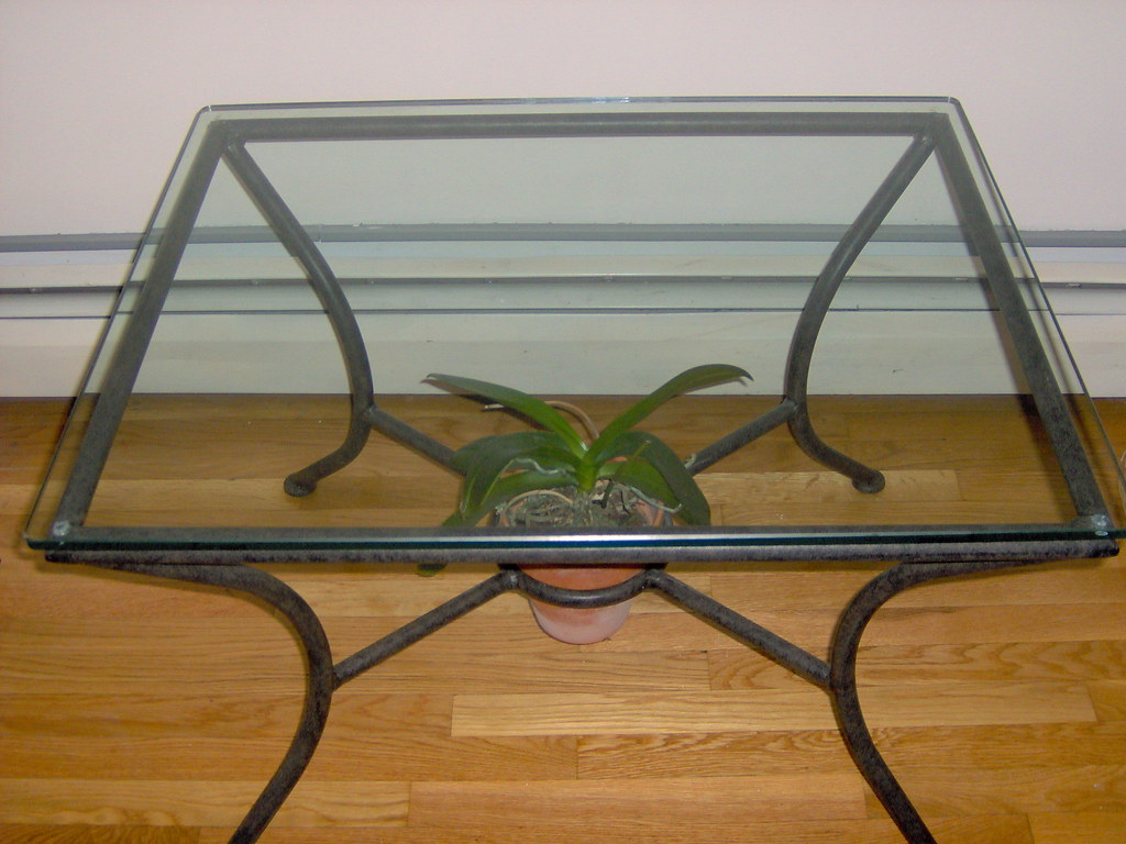 Wrought iron coffee table bases coffee table bases 6 - Crate and barrel espana ...