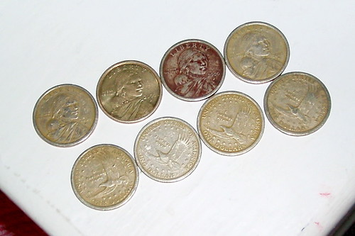 Where did all the Gold $1 coins go?