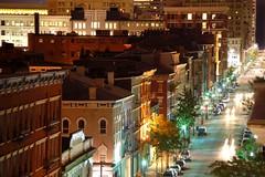 Mainline (J. Star) Tags: city longexposure mainstreet downtown nightshot cincinnati utataview