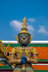 2016_04-Bangkok-M00045 (trailbeyond) Tags: architecture asia bangkok building gold location outdoors pattern religiousbuilding statue temple templeoftheemeraldbuddha texture thailand thegrandpalace watphrakaew