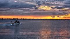 Tramonto a Rimini (Luna y Valencia) Tags: rimini sunset tramonto romagna puestadelsol