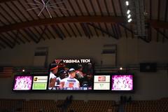 HOKIE WINS (SneakinDeacon) Tags: vt vatech hokies virginiatech cassellcoliseum scoreboard basketball hawks marylandeasternshore