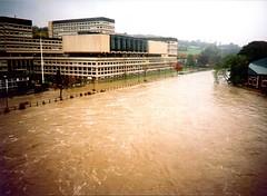 floods (John Keniry) Tags: river durham flood wear riverwear northeast waterside nsi milburngate millburngate nationalsavings