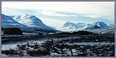Icelandic valley (joningic) Tags: winter snow mountains nature iceland hrgrdalur